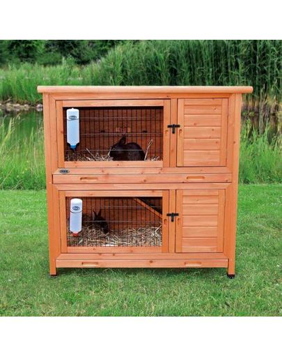 TRIXIE Cușcă pentru iepuri 'Natura' 2 etaje 116×111×65 cm imagine