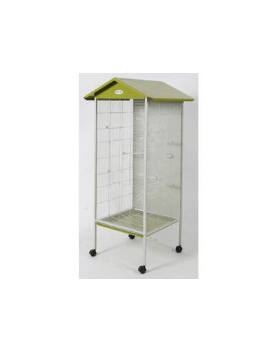 ZOLUX Volieră Arabesque Jade 165X74,5X78 cm culoare olive imagine
