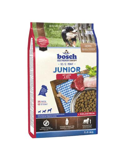 BOSCH Junior miel cu orez 3 kg
