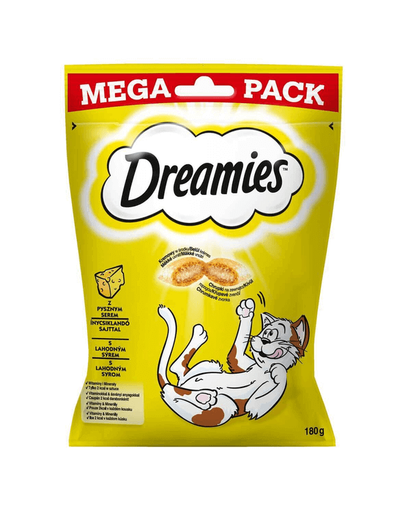 DREAMIES Mega brânză 4 x 180 g