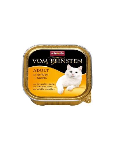 ANIMONDA Vom Feinsten Meniu Carne de Pasăre și Paste 100 g imagine