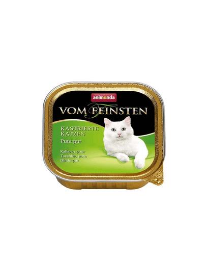 ANIMONDA Vom Feinsten cu curcan pentru pisici sterilizate 100 g imagine