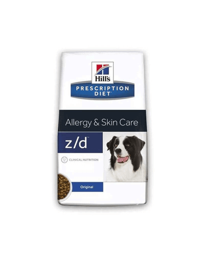 Hills Prescription Diet Canine Allegry & Skin Care Z/D 3 Kg imagine