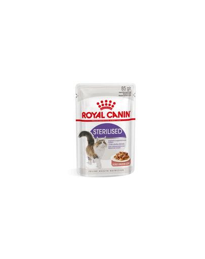 ROYAL CANIN Sterilised în sos 12 x 85 g