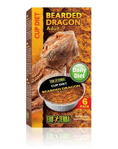 EXO TERRA Mâncare pentru dragon cu barbă adult 6x60 g imagine