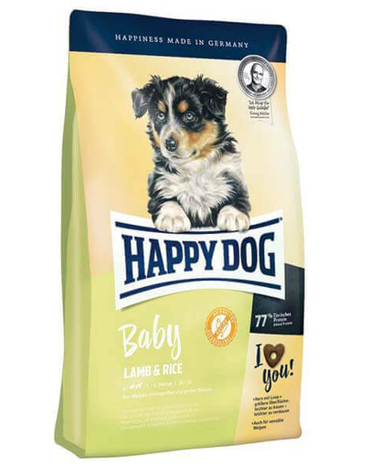 HAPPY DOG Baby miel și orez 4kg imagine