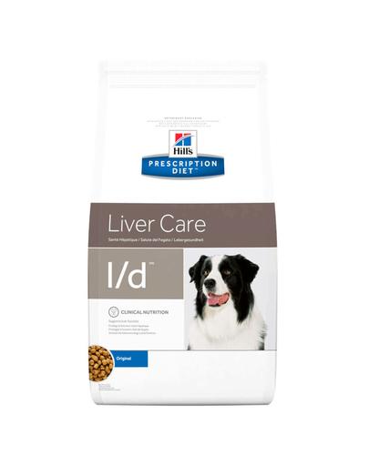 HILL'S Prescription Diet l/d Canine 12 kg imagine