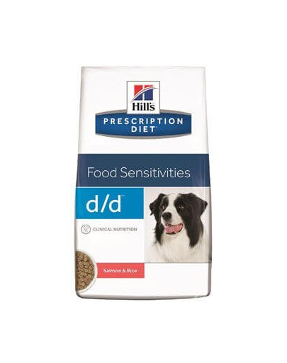 HILL'S Prescription Diet Canine d/d Somon și Orez 5 kg imagine