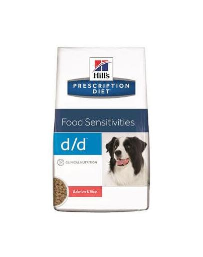 HILLS Prescription Diet Canine d/d Salmon & Rice 12 kg imagine