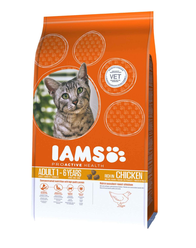 Iams Cat Adult All Breeds Chicken 300 G