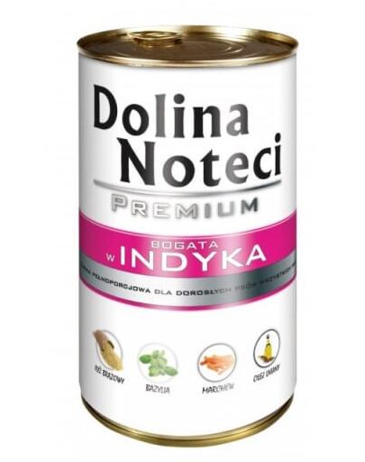 DOLINA NOTECI Premium bogat în curcan 400 g