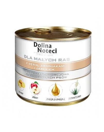 DOLINA NOTECI Premium small breeds cu gâscă, cartofi și măr 100 g