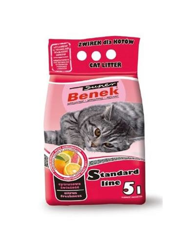 BENEK Super Benek citrus Freshness 5 L imagine