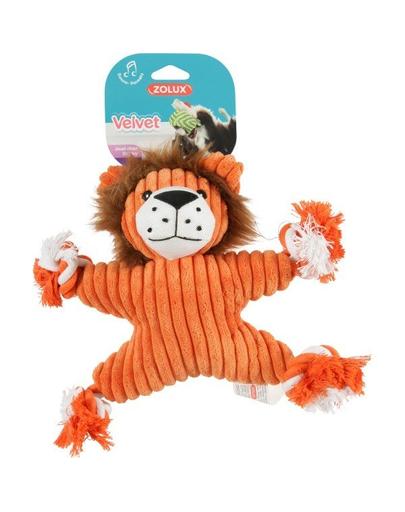 ZOLUX Jucărie Velvet leu Virginia portocaliu imagine
