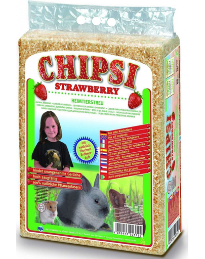 Jrs Chipsi Strawberry Rumegus Capsuni 60 L