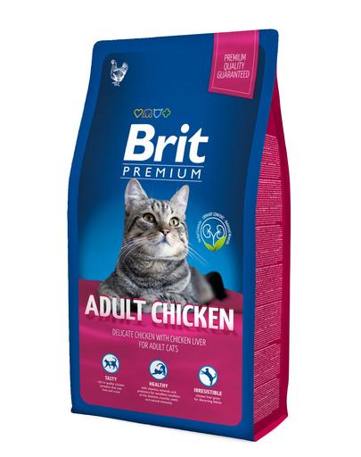BRIT Premium Cat Adult pui 8 kg