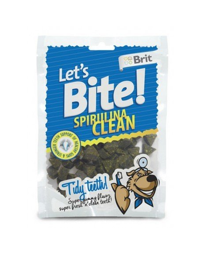BRIT Care Lets Bite Dog Spirulina Clean 150 g
