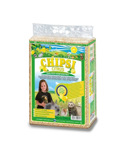 JRS Chipsi Citrus Multi rumeguș de lămâie 60 l