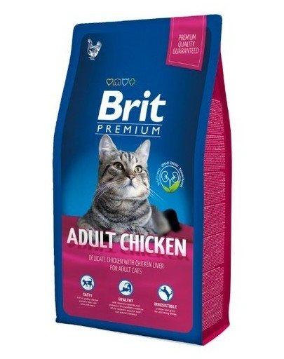 BRIT Premium Cat Adult Chicken 300 g imagine