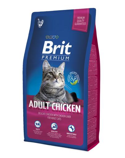 BRIT Premium Cat Adult pui 1,5 kg imagine