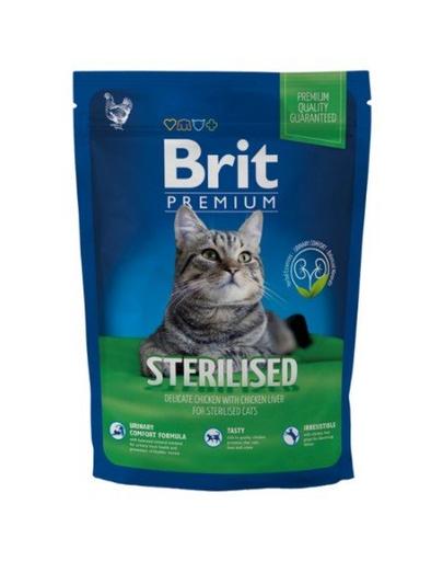 BRIT Premium Cat Sterilised 300 g imagine