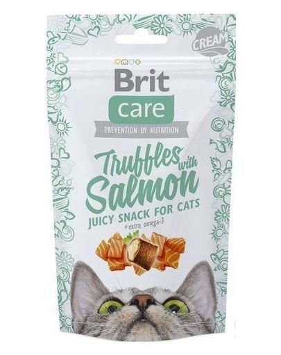 BRIT Care Cat Snack Truffles Somon 50g