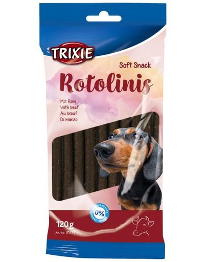 TRIXIE Sticks cu vită Rotolinis 120 g