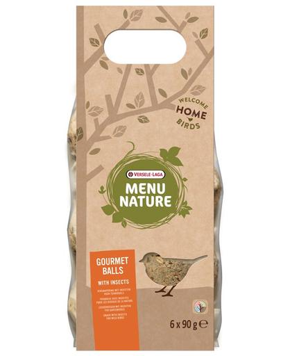 VERSELE-LAGA Gourmet Balls- Bile de hrană pentru păsări sălbatice, cu insecte 6 buc. 540 g imagine