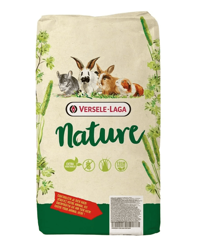 VERSELE-LAGA Cuni Nature - hrană pentru iepuri și iepuri pitici 9 kg