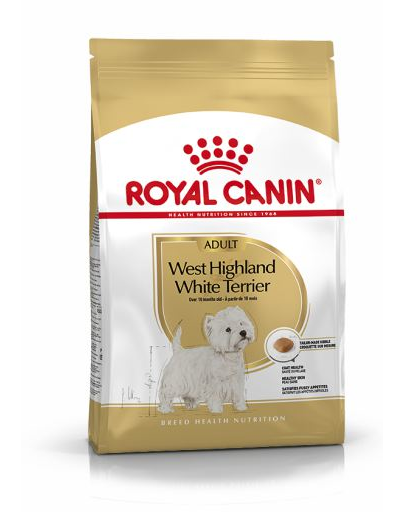 Royal Canin West Highland Terrier Adult hrana uscata caine Westie, 3 kg
