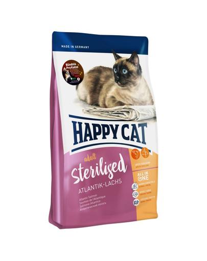 HAPPY CAT Supreme Sterilised cu Somon 4 kg imagine