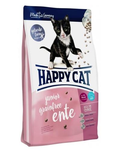 Happy Cat Supreme Junior Grainfree Cu Rata 4 Kg