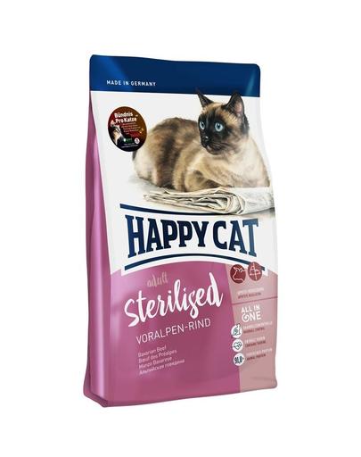 HAPPY CAT Supreme Sterilised cu Vită 1,4 kg imagine