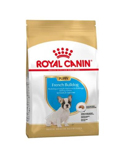 Royal Canin French Bulldog Puppy Hrană Uscată Câine 1 kg