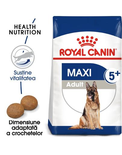 Royal Canin Maxi Adult Hrana Uscata Caine 5+ 15 Kg
