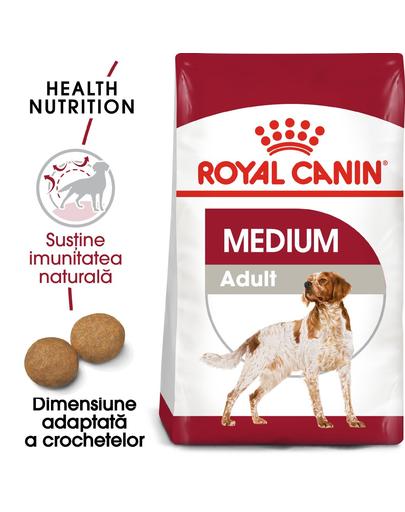 Royal Canin Medium Adult 7+  hrana uscata caine senior, 15 kg