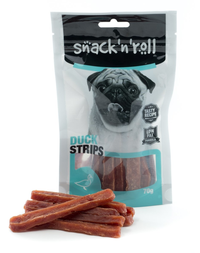 SNACK & ROLL Duck Strips 70 g