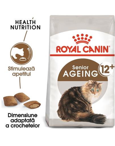 Royal Canin Ageing 12+ Hrană Uscată Pisică 2 kg