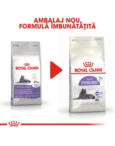 Royal Canin Sterilised 7+ hrana uscata pisica sterilizata senior, 3.5 kg