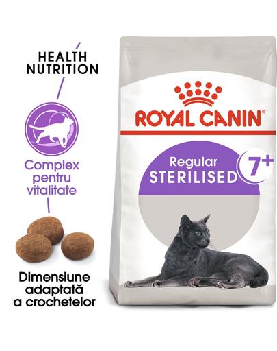 Royal Canin Sterilised 7+ hrana uscata pisica sterilizata senior, 10 kg