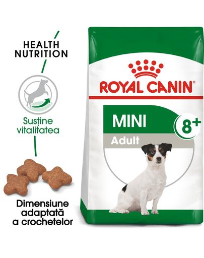 Royal Canin Mini Adult 8+ Hrană Uscată Câine 8+1 kg imagine