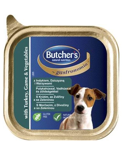 BUTCHER'S Gastronomia pate cu curcan, vânat și legume 150 g