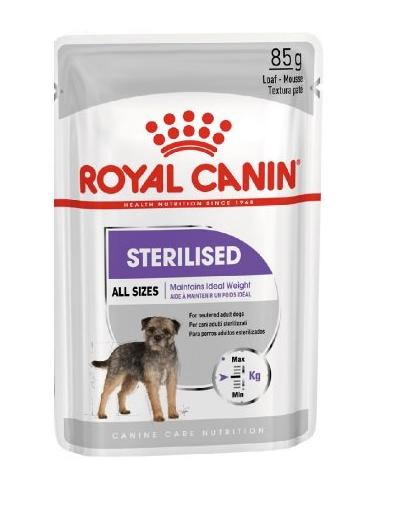 Royal Canin Sterilised Adult hrana umeda caine sterilizat, 12 x 85 g imagine
