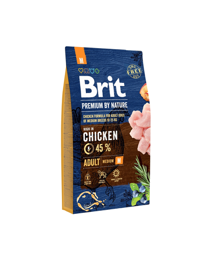 BRIT Premium By Nature Adult Medium M 8 kg