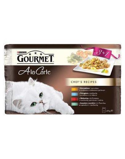 Gourmet A la carte mix 3+1 85 g
