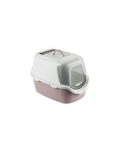 ZOLUX Litieră CATHY Easy Clean cu filtru - roz pudrat imagine