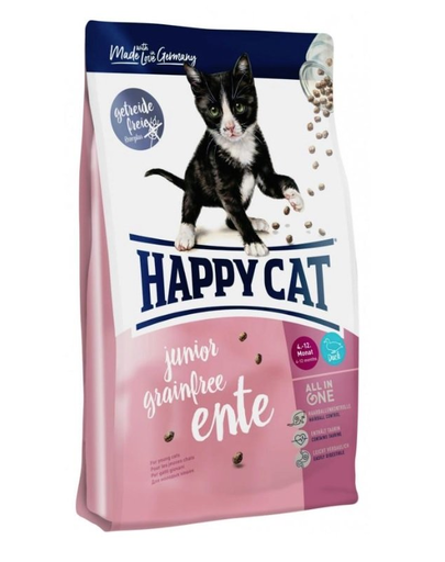 HAPPY CAT Supreme Junior Grainfree cu Rață 1,4 kg imagine