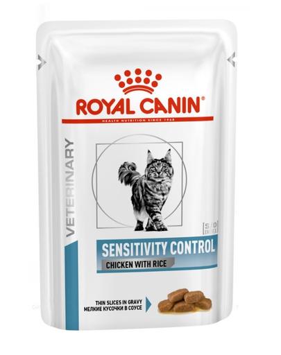 ROYAL CANIN Cat Sensitivity pui și orez 12 x 85 g