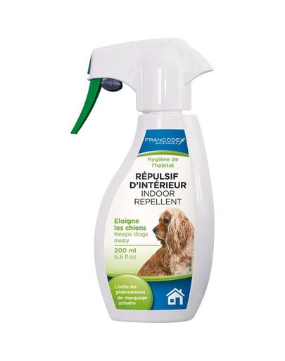 FRANCODEX Spray repelent pentru câini, pentru interiorul locuinței 200 ml