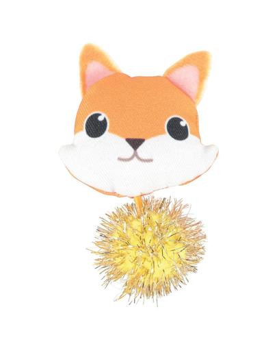 ZOLUX LOVELY Jucărie vulpe pentru pisici cu iarba-mâței imagine
